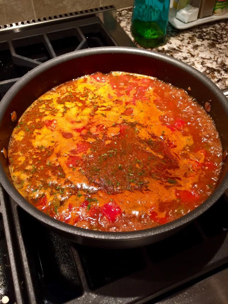 Taco Soup Boil
