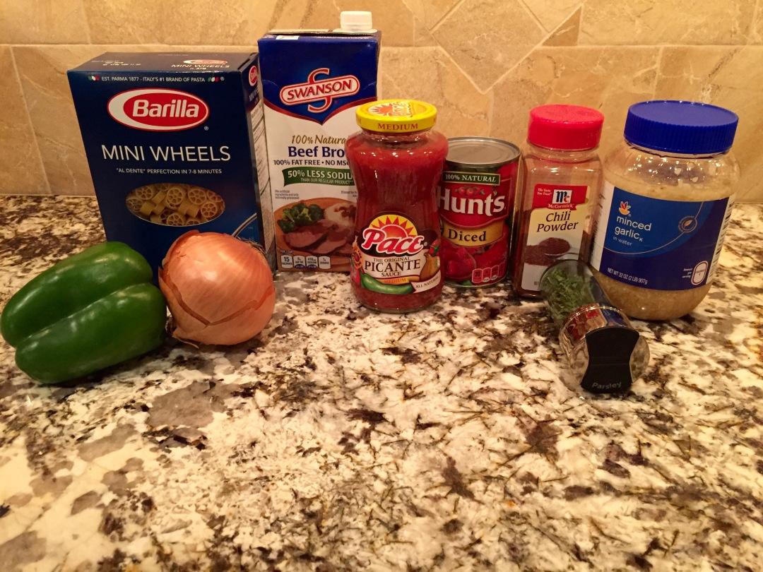 Taco Soup Ingredients