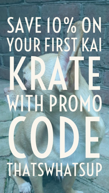 Kai Krates: The Affordable Dog Subscription Box