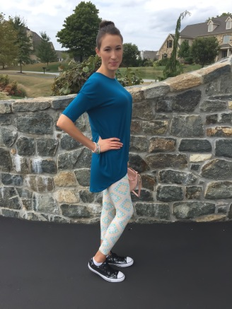 LuLaRoe Leggings and Irma